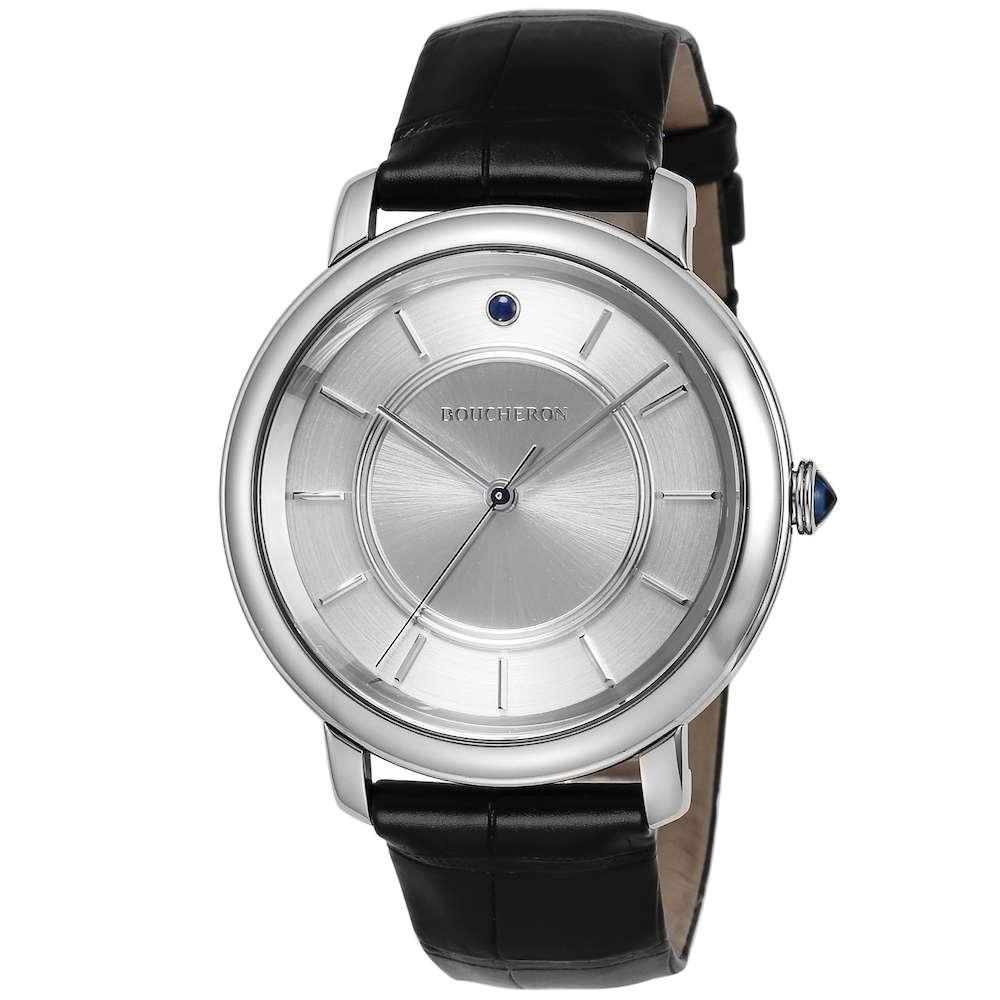 金無垢 腕時計 ブシュロン BOUCHERON エピュール クラシック メンズ 時計 腕時計 BUC-WA021104 高級腕時計 グランサンク ブランド フランス とけい ウォッチ 新品 PURE GOLD WATCH