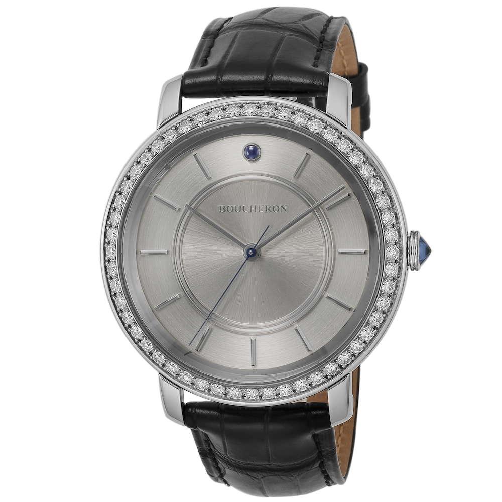 ブシュロン BOUCHERON エピュールクラシック メンズ 時計 腕時計 BUC-WA021105 高級腕時計 グランサンク ブランド フランス とけい ウォッチ