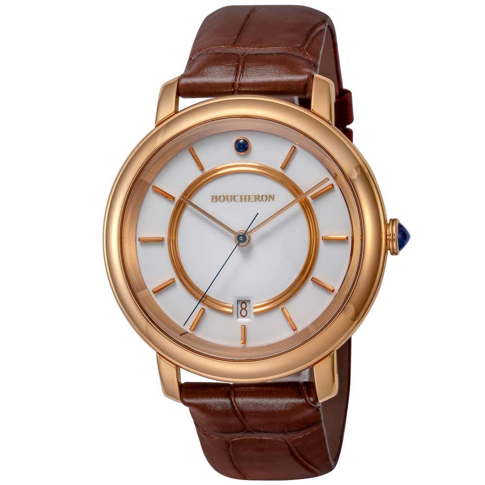ブシュロン BOUCHERON エピュール クラシック メンズ 時計 腕時計 BUC-WA021106 高級腕時計 グランサンク ブランド フランス とけい ウォッチ 新品 PURE GOLD WATCH 金無垢