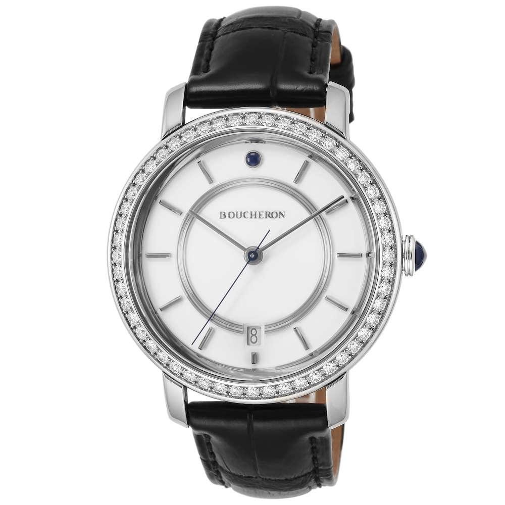 金無垢 腕時計 ブシュロン BOUCHERON エピュール ユニセックス 時計 腕時計 BUC-WA021108 高級腕時計 グランサンク ブランド フランス とけい ウォッチ 新品 PURE GOLD WATCH