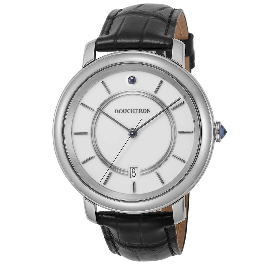 金無垢 腕時計 ブシュロン BOUCHERON エピュール メンズ 時計 腕時計 BUC-WA021109 高級腕時計 グランサンク ブランド フランス とけい ウォッチ 新品 PURE GOLD WATCH