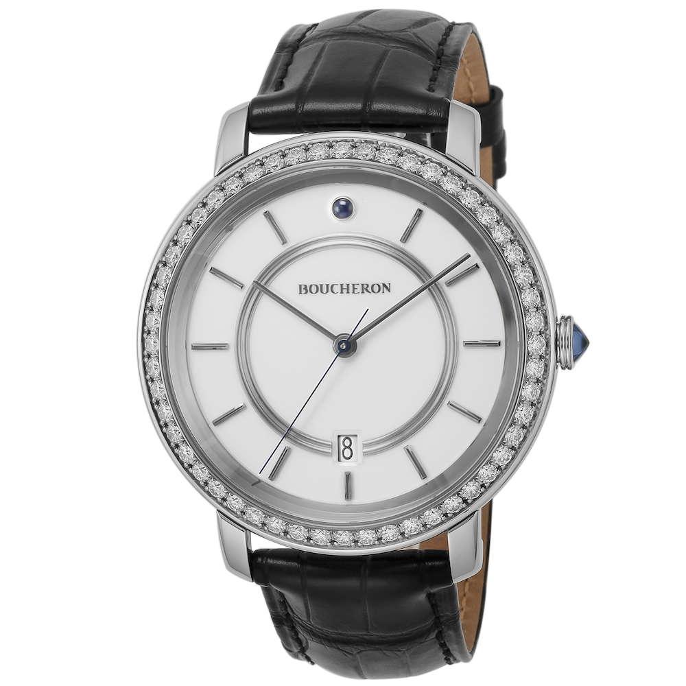 ブシュロン BOUCHERON エピュール メンズ 時計 腕時計 BUC-WA021110 高級腕時計 グランサンク ブランド フランス とけい ウォッチ