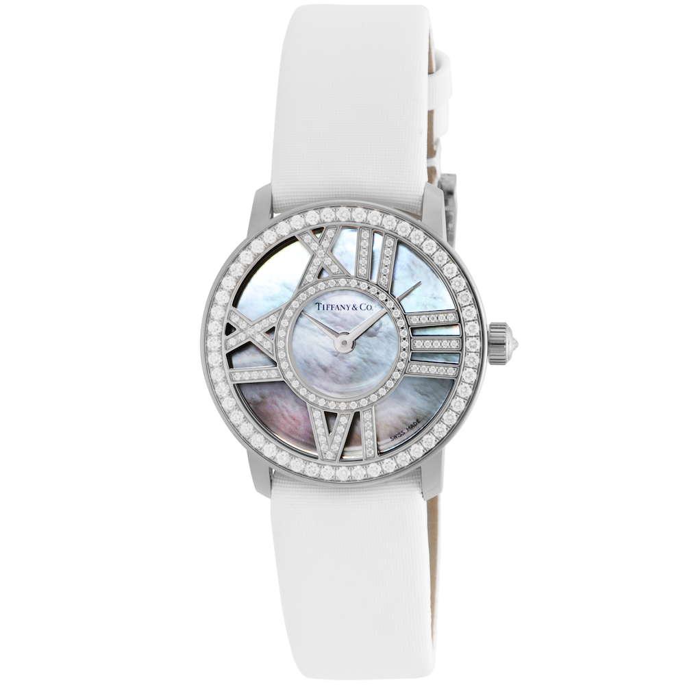 ティファニー Tiffany & Co. Atlas Cocktail Round レディース 時計 腕時計 TI-Z19001040E91A-40B 高級腕時計 ブランド アメリカ とけい ウォッチ 新品 PURE GOLD WATCH 金無垢