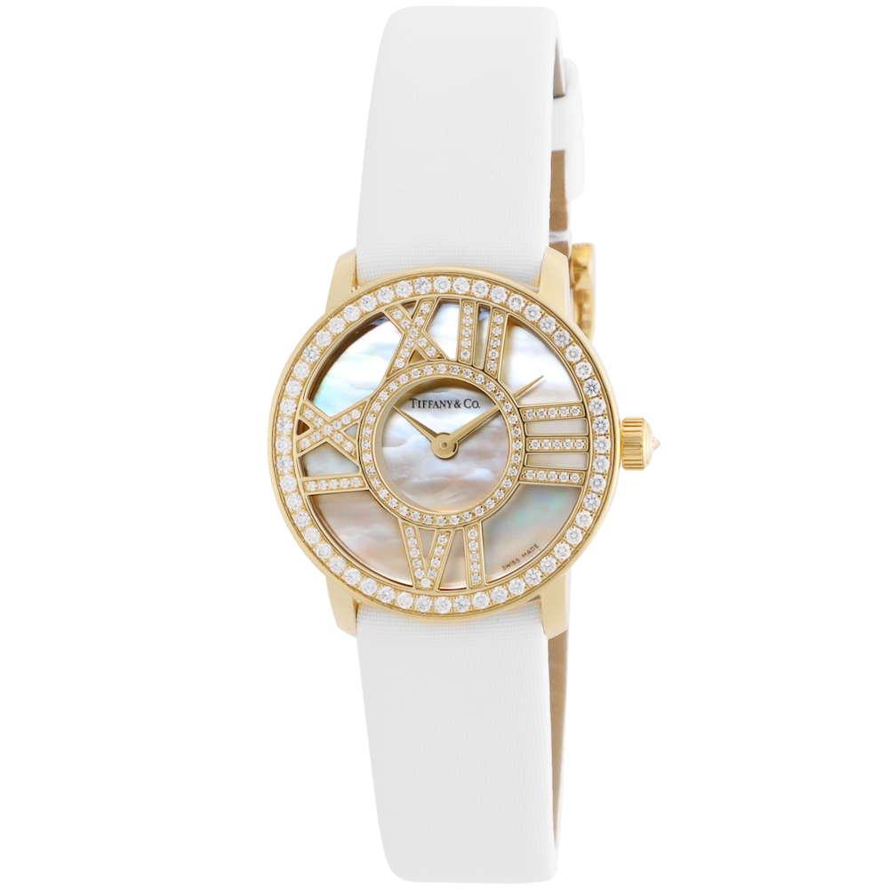 ティファニー Tiffany & Co. Atlas Cocktail Round レディース 時計 腕時計 TI-Z19001050E91A-40B 高級腕時計 ブランド アメリカ とけい ウォッチ 新品 PURE GOLD WATCH 金無垢