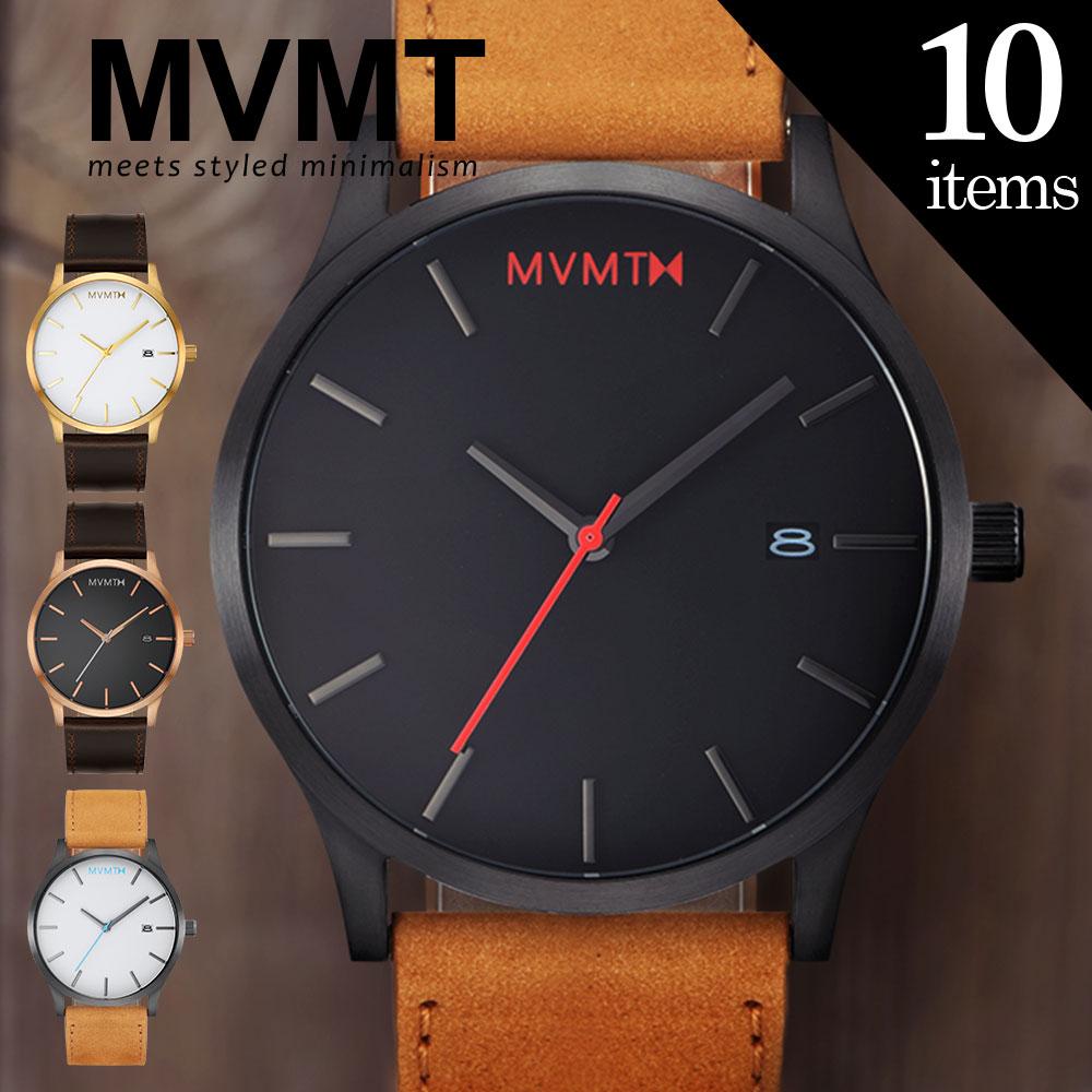 MVMT ムーブメント 話題の腕時計入荷!LAでSNSを賑わすMVMTが限定入荷! プレゼント ギフト にもオススメ エムブイエムティー メンズ レディース ユニセックス 時計 腕時計 レザーベルト 【とけい ウォッチ】 シンプル クラシック メタルベルト