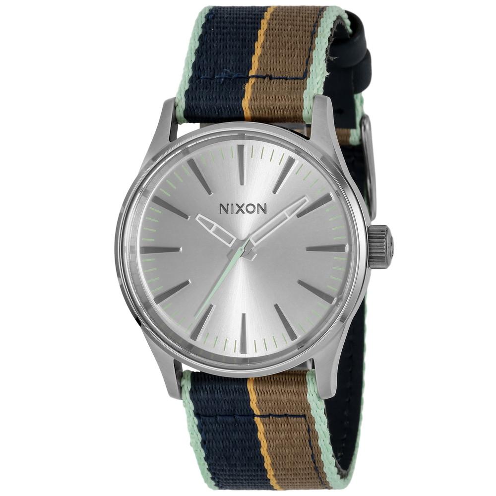 ニクソン NIXON SENTRY 38 NYLON メンズ 時計 腕時計 NXS-A4262083 セントリー【カジュアル スケーター ストリート ファッション ブランド アメリカ】 とけい ウォッチ