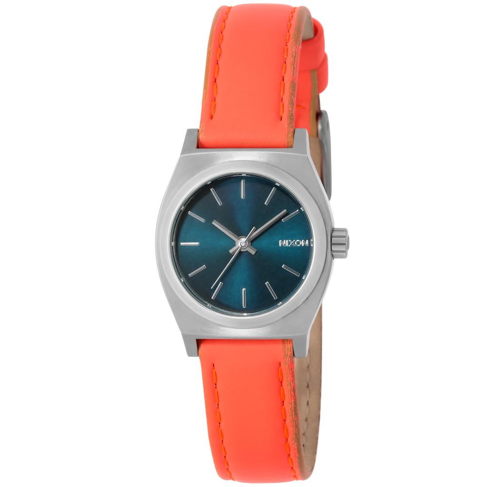 ニクソン NIXON SMALL TIME TELLER LEATHER ユニセックス 時計 腕時計 NXS-A5092077 タイムテラー【カジュアル スケーター ストリート ファッション ブランド アメリカ】 とけい ウォッチ