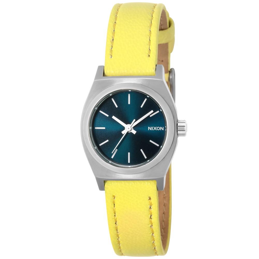 ニクソン NIXON SMALL TIME TELLER LEATHER ユニセックス 時計 腕時計 NXS-A5092080 タイムテラー【カジュアル スケーター ストリート ファッション ブランド アメリカ】 とけい ウォッチ