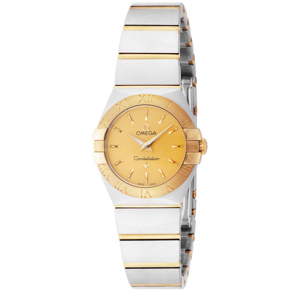 最安値 オメガ OMEGA コンステレーション レディース 時計 腕時計 クォ-ツ ゴールド 123.20.24.60.08.001, 【35%OFF】 be2f2697