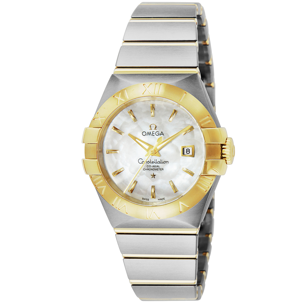 都内で オメガ OMEGA 腕時計 コンステレーション レディース 時計 コーアクシャル自動巻 ホワイトパール 123.20.31.20.05.002, ブランドジャックリスト湘南 5db3937b