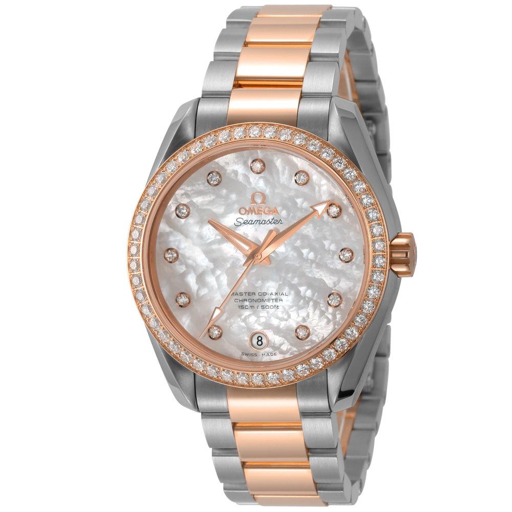 オメガ OMEGA シーマスター アクアテラ レディース 時計 腕時計 OMS-23125392155001 高級腕時計 ブランド スイス とけい ウォッチ