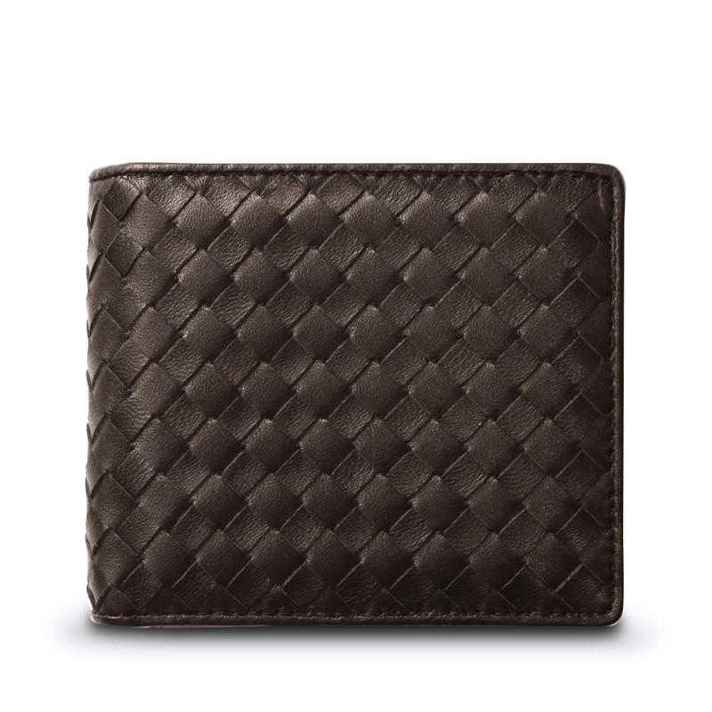 ギオネ GUIONNET メンズ 財布 二つ折り財布 OEM-PG201-DBR 【ブランド】 ウォレット さいふ サイフ 2ツ折り 2つ折り