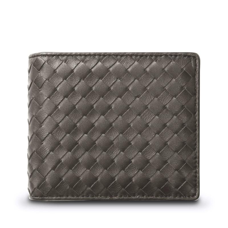 ギオネ GUIONNET メンズ 財布 二つ折り財布 OEM-PG201-GRY 【ブランド】 ウォレット さいふ サイフ 2ツ折り 2つ折り