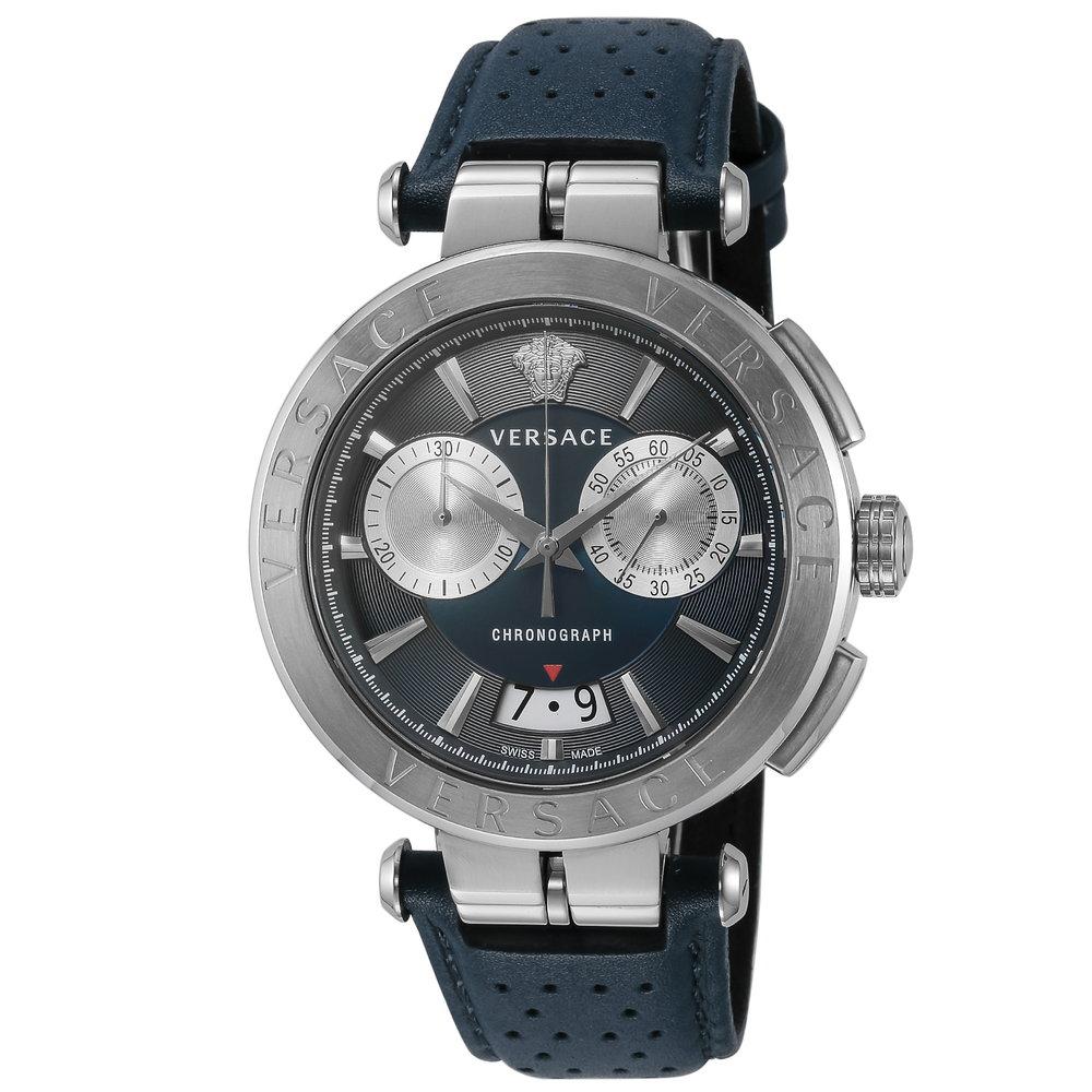 あす楽 送料無料 ヴェルサーチェ VERSACE 時計 腕時計 VE1D00819 メンズ とけい ブルー 売れ筋ランキング ブランド 高級腕時計 ウォッチ ラグジュアリー クォ-ツ AION 通信販売