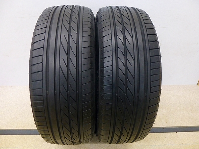 中古 タイヤ グッドイヤー イーグル RV-S 215/55R18 2本 中古  タイヤ 【中古】