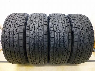 中古スタッドレスタイヤ 中古 スタッドレス タイヤ 285 60-18 引出物 新品未使用 60R18 ウィンターマックス ダンロップ 国産 4本 SJ8 スタッドレスタイヤ