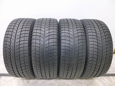 中古 スタッドレスタイヤ ミシュラン X-ICE XI3 215/45R17 4本 中古 スタッドレスタイヤ 【中古】
