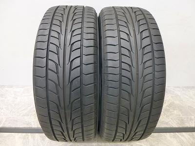 中古 タイヤ ファイアストン ワイドオーバル 225/55R18 2本 中古  タイヤ 【中古】