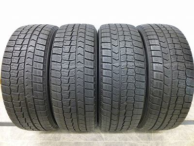 中古スタッドレスタイヤ メーカー公式 完売 中古 スタッドレス タイヤ 225 55-18 55R18 スタッドレスタイヤ ウインターマックス WM02 ダンロップ 4本 国産