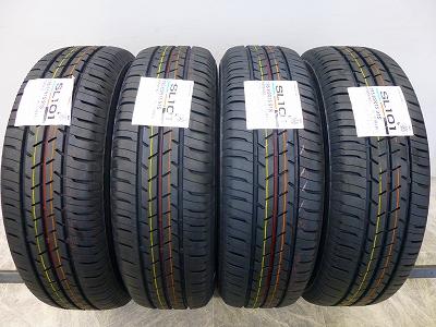 未使用品 タイヤ ブリヂストン(セイバーリング) SL101  195/65R15 4本 新品  タイヤ 【未使用品】