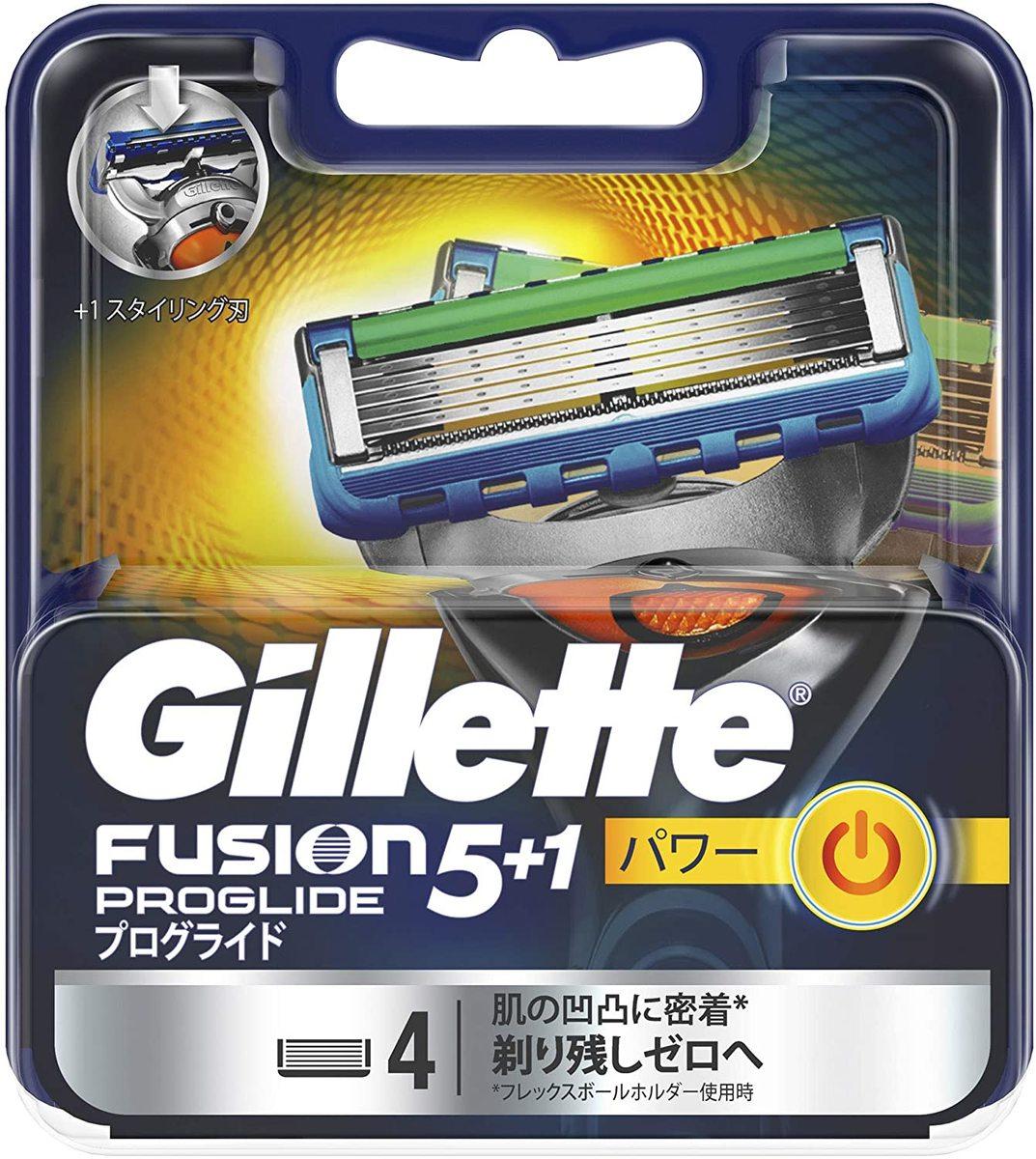 電動 タイプ ジレット ジレット®フュージョン5+1™プログライド®電動男性用カミソリ