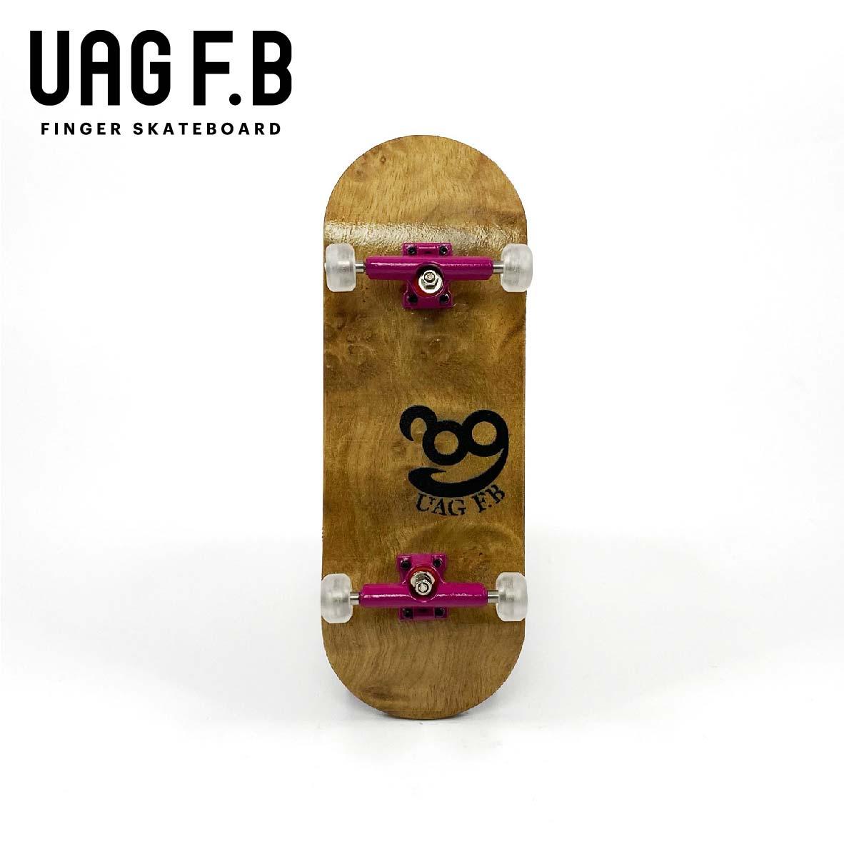 これから始めたい方にオススメ 価格とクオリティーにこだわったUAG F.Bの定番モデル 最新号掲載アイテム UAG F.B 《UAG リミテッドコンプリート》 Birds board 美品 指スケ skate eye finger