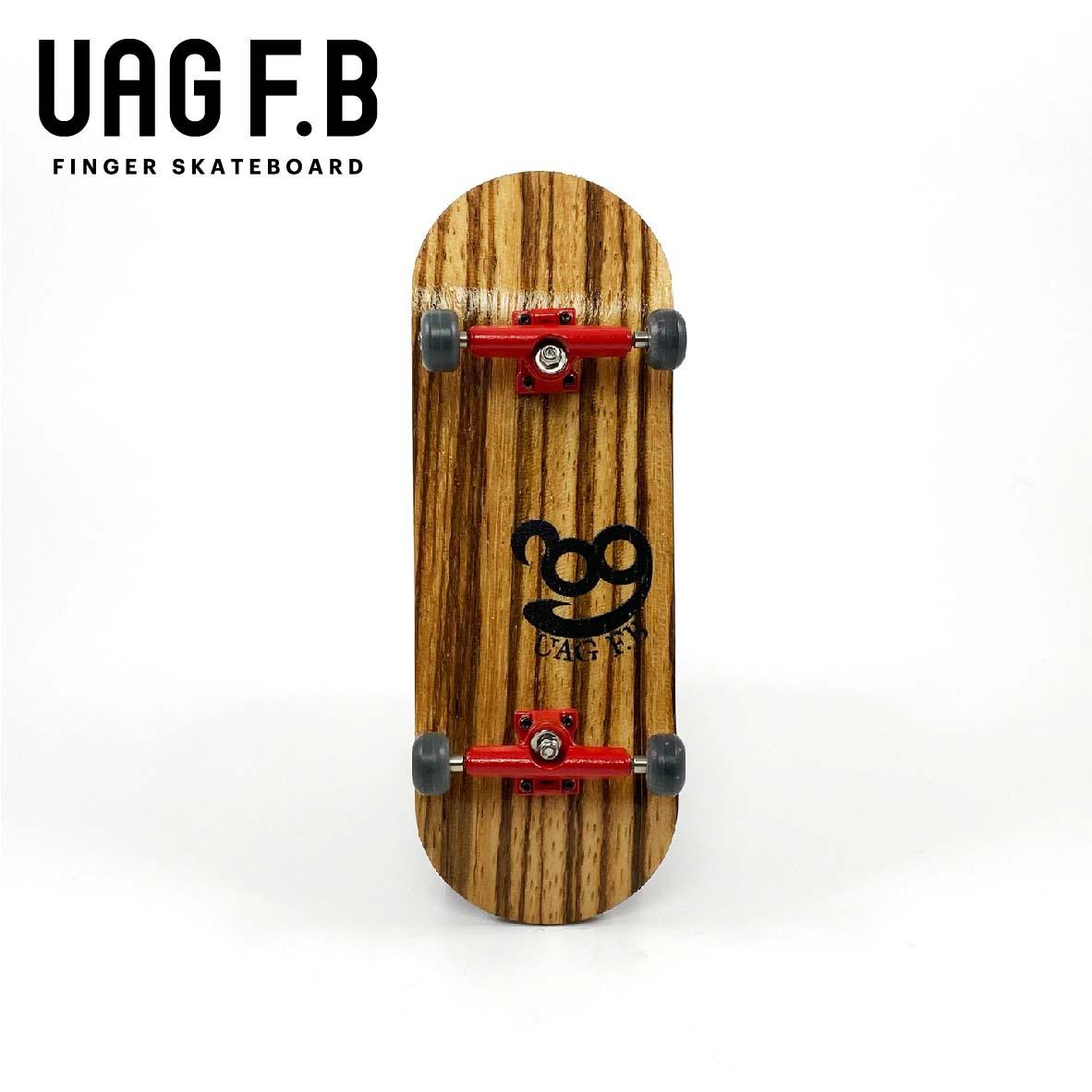 これから始めたい方にオススメ 全店販売中 価格とクオリティーにこだわったUAG F.Bの定番モデル UAG F.B 《UAG skate Zebra 送料無料 指スケ リミテッドコンプリート》 board finger