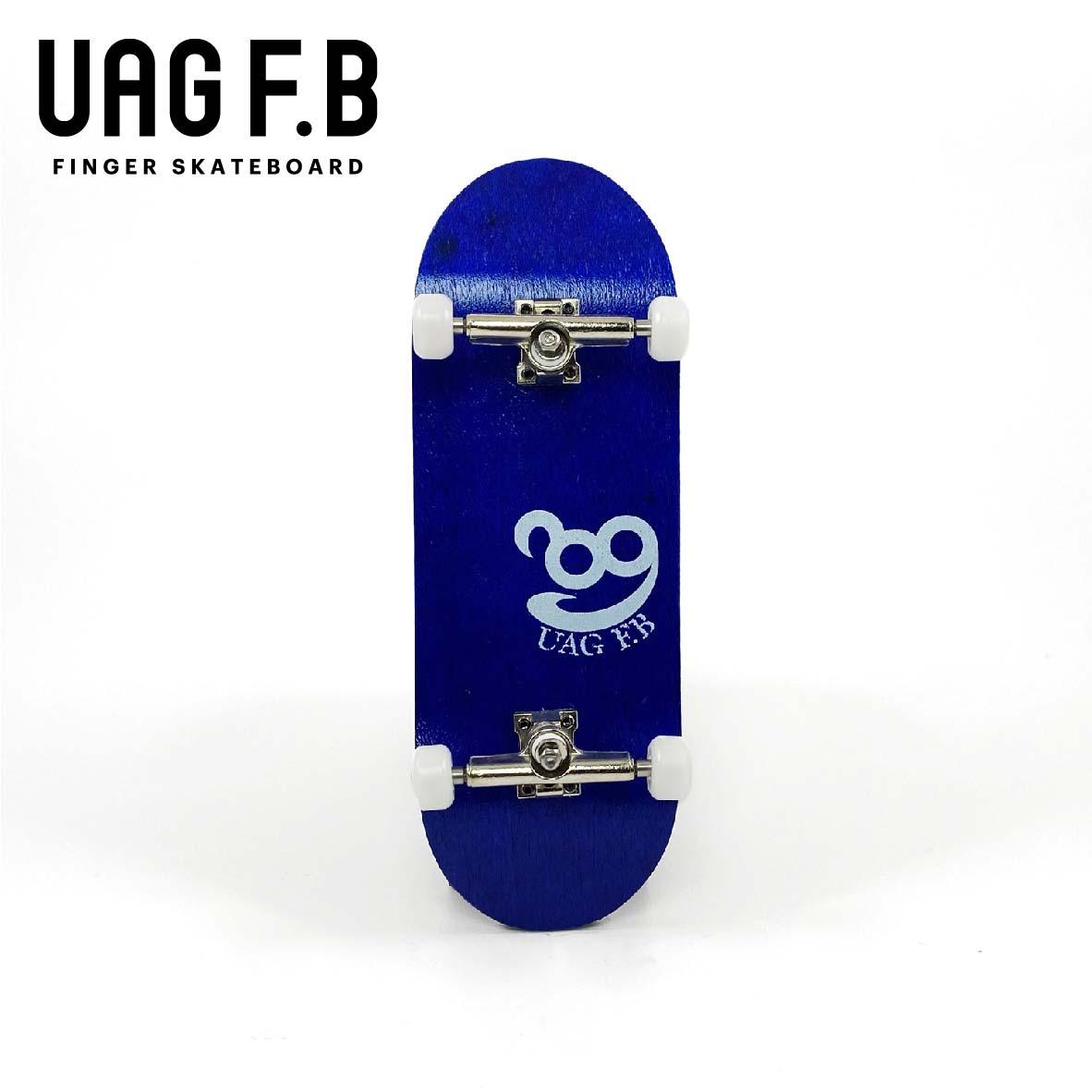 これから始めたい方にオススメ 価格とクオリティーにこだわったUAG F.Bの定番モデル UAG F.B 《UAG コンプリート》 Simple finger 安い 激安 プチプラ 高品質 新作 board -slim skate 青 ver- 指スケ