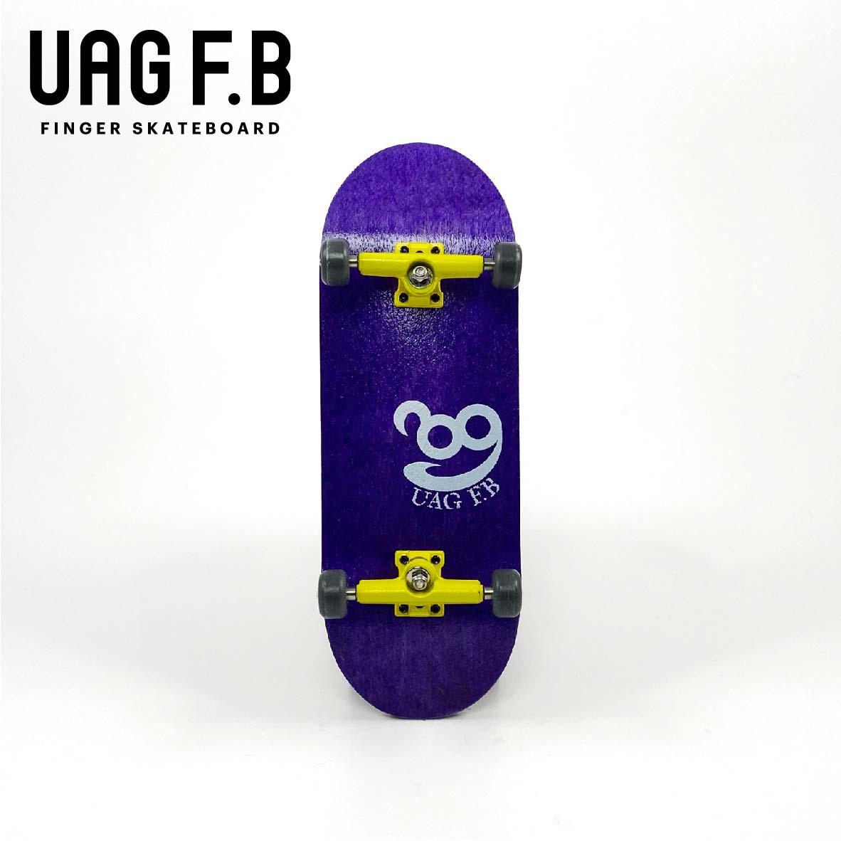 これから始めたい方にオススメ 価格とクオリティーにこだわったUAG F.Bの定番モデル UAG F.B 《UAG リミテッドコンプリート》 skate 現品 -slim board 指スケ 送料0円 ver- finger Purple
