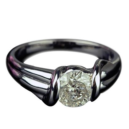 ダイヤモンド リング 1.0ct 【K18WG】