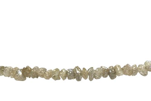 ダイヤモンド 供え 原石ネックレス セール K18WG