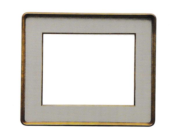 額縁 日本画 水墨画 額装 木製 f4 キャンバス 隅丸額 TR116 落とし F4