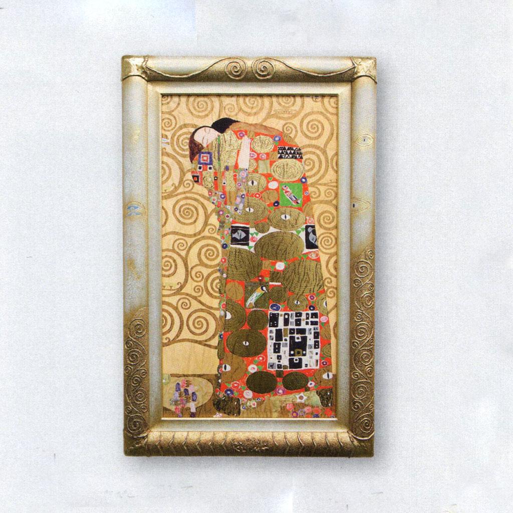 絵画 額入り 開店祝い 抱擁 グスタフ・クリムト 額入り Gustav リビング Klimt/シルク印刷 インテリア 壁 おしゃれ 壁掛け リビング 寝室 新築祝い 開業祝い 開店祝い, インポートコレクションYR:93b2f157 --- sunward.msk.ru