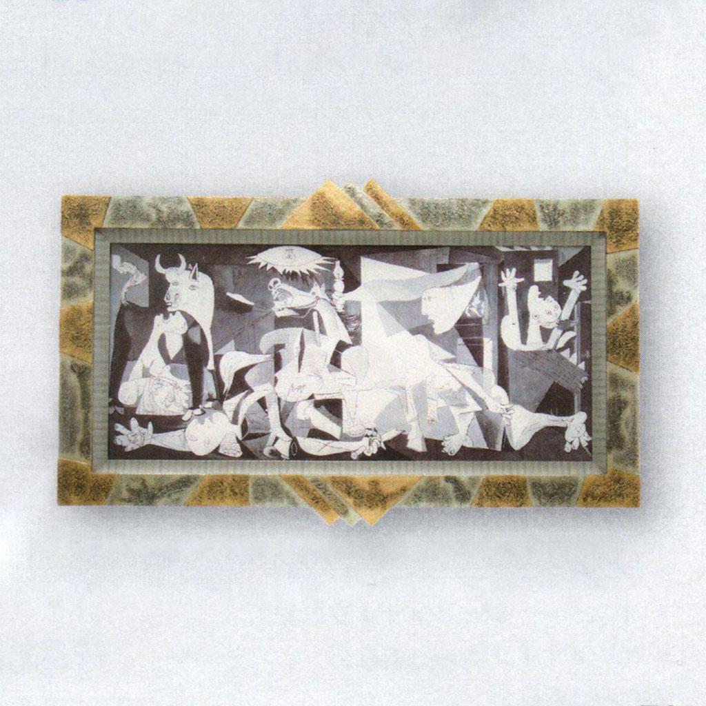 絵画 額入り ゲルニカ ピカソ Picasso ポスター Guernica インテリア 壁 おしゃれ 壁掛け リビング 寝室 新築祝い 開業祝い 開店祝い