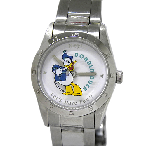 ディズニー レディースウォッチ ドナルドダック【DISNEY・licensed for hongkong & macau only・クォーツ・女性・腕時計・ブランド】