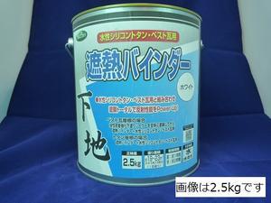 ニッペホーム 遮熱バインダーホワイト 5kg【送料込み】