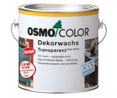 自然塗料 オスモカラーウッドワックス#3101 ノーマルクリアー (3分ツヤ透明)(上塗り)2.5L
