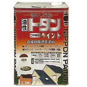 ニッペホーム トタンつやありペイント(特彩色)14kg【送料込み】