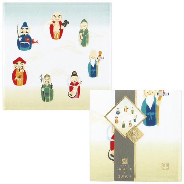 (SALE)为有而做,经过幸运幸运客人毛巾无捻线纱布约33*34cm uchinotaoru