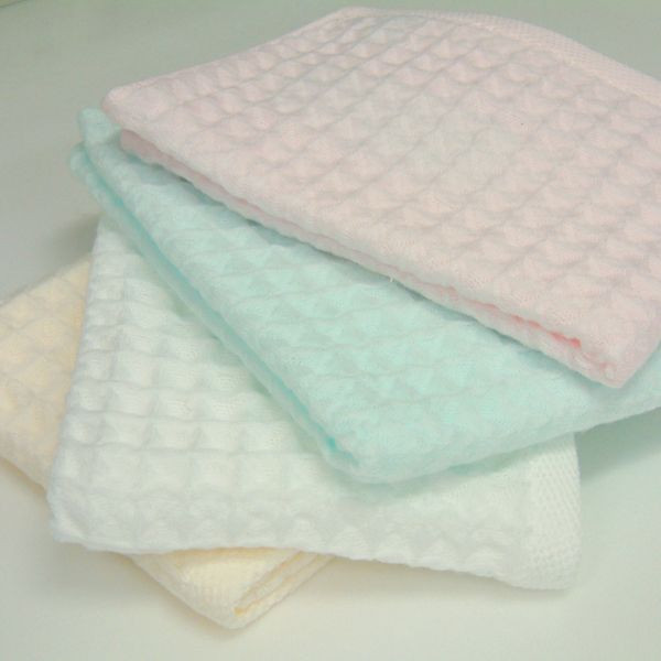 供支持中空線空氣華夫餅幹客人毛巾約34*40cm uchinotaorugyarariuchinotaorugifuto的禮品禮物自己使用