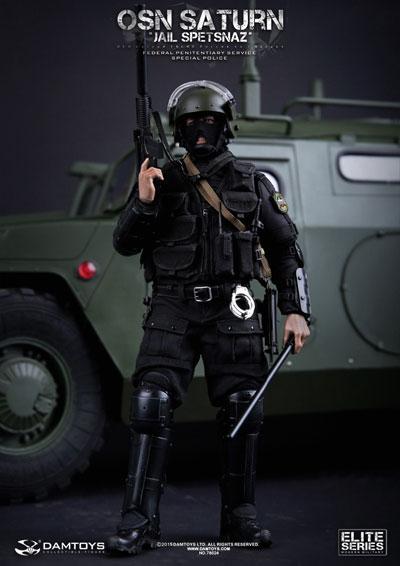 【DAM】No.78024 ELITE SERIES OSN Saturn Jail Spetsnaz FSIN SPECIAL POLICE OSN サターン ジェイル スペツナズ FSIN スペシャル ポリス 1/6フィギュア