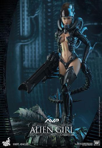 【ホットトイズ】ANG#02『AVP』 1/6スケールフィギュア エイリアン・ガール