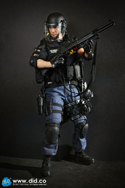 1//6 Scale LAPD police SWAT 3.0 Takeshi Yamada Asian HEAD SCULPT