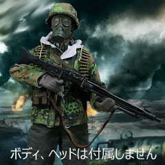 【AlertLine】AL100016A 1/6 1/6 1/6 WW2 SS MG42 Machine Gunner Equipment Set ドイツ軍 MG42装備セット 1/6スケール男性コスチューム 749