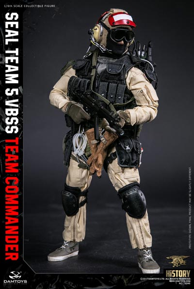 【DAM】No.78046 HISTORY SERIES 1/6 SEAL TEAM 5 VBSS TEAM COMMANDER アメリカ海軍特殊部隊 海上阻止・船舶臨検 コマンダー 1/6フィギュア