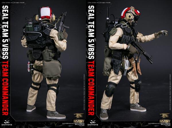1:6 scale DAM TOYS 78046 SEAL TEAM 5 VBSS Team Commander MACHINE GUN w// MAGAZINE