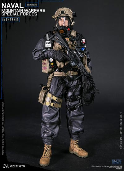 【DAM】No.78051 ELITE SERIES 1/6 NAVAL MOUNTAIN WARFARE SPECIAL FORCE アメリカ海軍 マウンテン ウォーフェア スペシャルフォース 1/6フィギュア