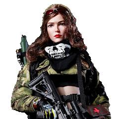 【FLAGSET】FS-73015 MC War angel Angela 女性スナイパー ウォーエンジェル アンジェラ 1/6スケール 女性フィギュア