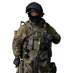【DAM】No.78059 ELITE SERIES 1/6 RUSSIAN SPETSNAZ MVD - SOBR LYNX スペツナズ ロシア連邦国家親衛隊 特殊部隊 緊急対応特殊課 ソーブル 山猫 8周年記念版 1/6フィギュア