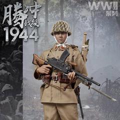 IQOMODEL 日本軍 1/6スケールフィギュア 【IQO MODEL】91001 1/6 WW2 1944 Battle of Tengchong 大日本帝国陸軍 九六式軽機関銃 機関銃手 テンチョンの戦い 1/6スケール男性フィギュア